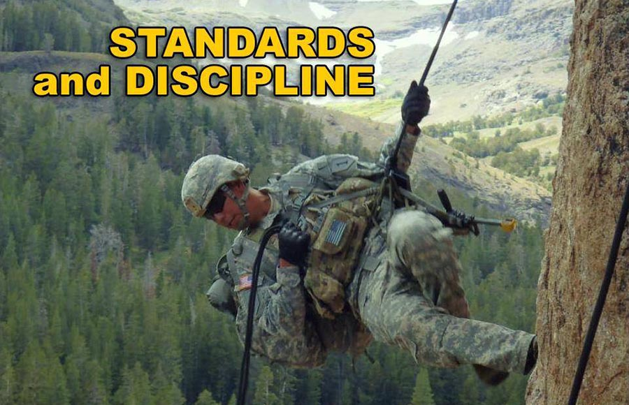 01 Standards and Discipline