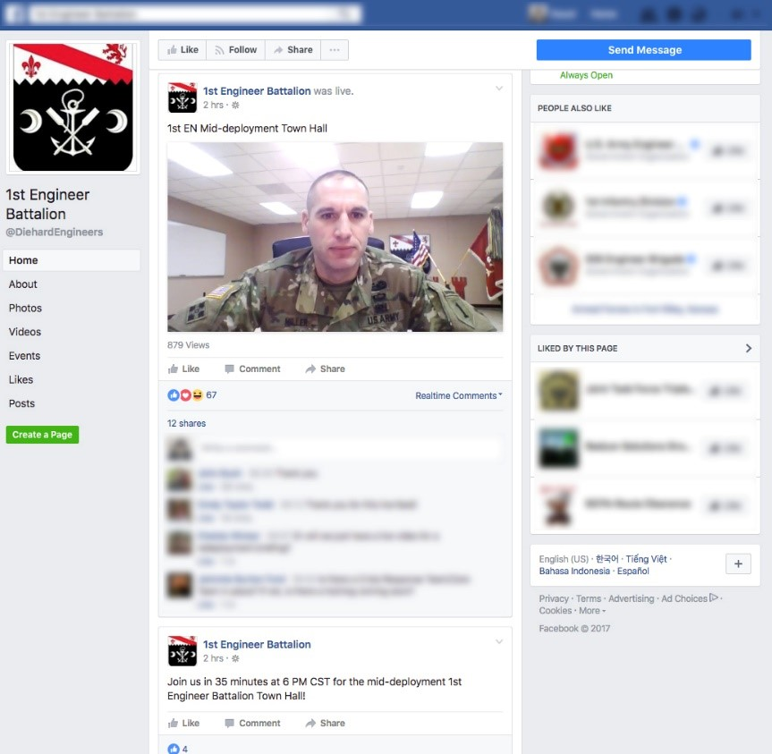 Soldiers and social media: challenges, benefits, and disadvantages