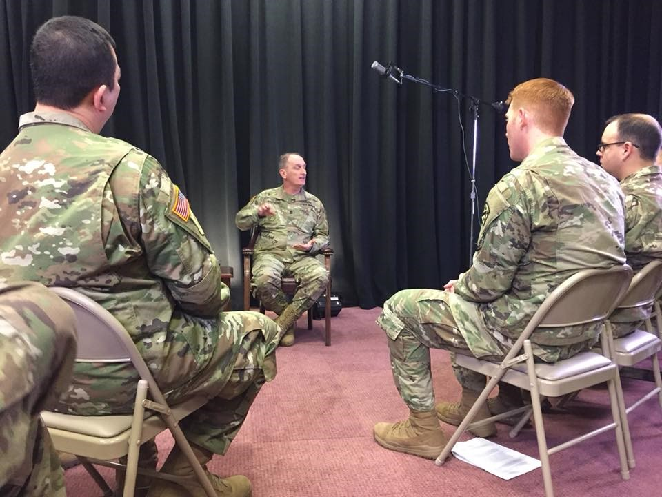 TRADOC CSM and NCOs discuss a constantly changing environment