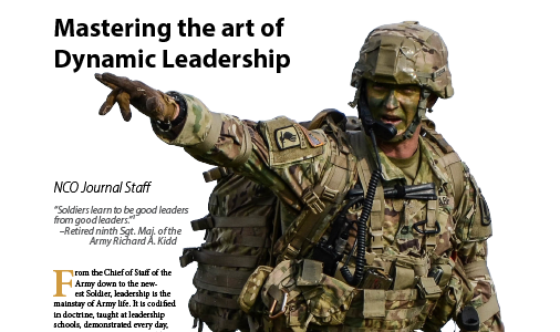 World War I Leadership Characteristics That Could Make Future Military Leaders Successful