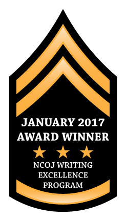 January 2017 Award Winner