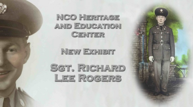 A new exhibit at the Noncommissioned Officer Heritage and Education Center at Fort Bliss, Texas