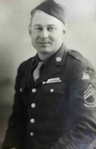 Sgt. Richard Rogers' discharge photo was taken in 1945.