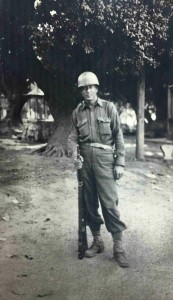 Sgt. Richard Rogers in Sicily, circa 1943