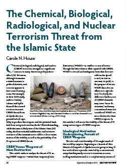 The Chemical, Biological, Radiological, and Nuclear Terrorism Threat from the Islamic State